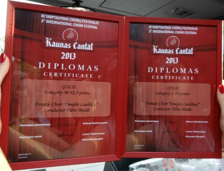 Kaunase diplomid