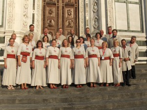 Kammerkor A. Le Coq Firenzes Santa Croce kiriku trepil 24.07.2015